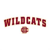 Medium Decal-Wildcats w/BC Logo, 8 in W