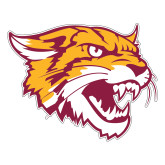 Large Decal-Wildcat Head, 12 inches wide
