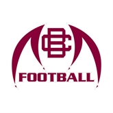 Small Decal-Football, 6 in W