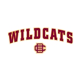 Small Decal-Wildcats w/BC Logo, 6 in W