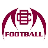 Extra Large Decal-Football, 18 in W