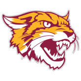 Extra Large Decal-Wildcat Head, 18 inches wide