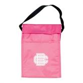 Koozie Pink Lunch Sack-BC Logo