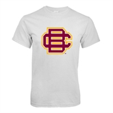 White T Shirt-BC Logo