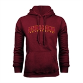 Maroon Fleece Hood-Bethune-Cookman University