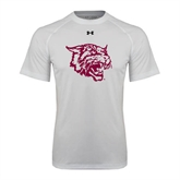 Under Armour White Tech Tee-Wildcat Head