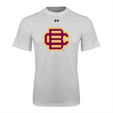 Under Armour White Tech Tee-BC Logo