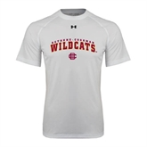 Under Armour White Tech Tee-Arched Bethune-Cookman Wildcats