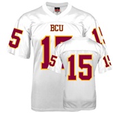Replica White Adult Football Jersey-#15
