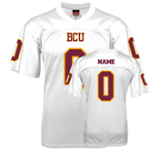 Replica White Adult Football Jersey-personalized