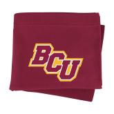 Maroon Sweatshirt Blanket-BCU