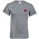 Charcoal T Shirt-Wildcat Head