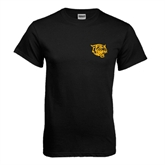 Black T Shirt-Wildcat Head
