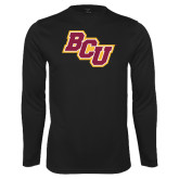 Syntrel Performance Black Longsleeve Shirt-BCU