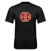 Syntrel Performance Black Tee-BC Logo