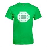 Kelly Green T Shirt-BC Logo