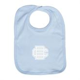 Light Blue Baby Bib-BC Logo