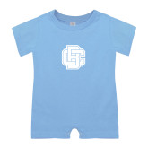 Light Blue Infant Romper-Primary Mark