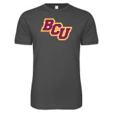 Next Level SoftStyle Charcoal T Shirt-BCU