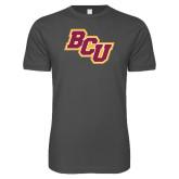 Next Level SoftStyle Charcoal T Shirt-BCU