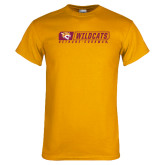 Gold T Shirt-Wildcats in Box