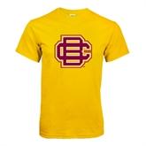 Gold T Shirt-BC Logo