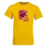 Gold T Shirt-Bethune 2011 Homecoming