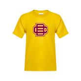 Youth Gold T Shirt-BC Logo
