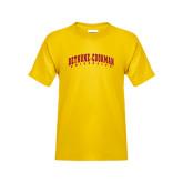 Youth Gold T Shirt-Bethune-Cookman University
