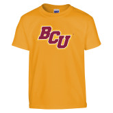 Youth Gold T Shirt-BCU