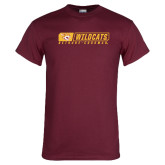 Maroon T Shirt-Wildcats in Box