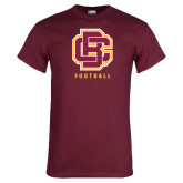 Maroon T Shirt-Football