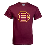 Maroon T Shirt-BC Logo