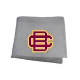 Grey Sweatshirt Blanket-BC Logo