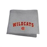 Grey Sweatshirt Blanket-Wildcats w/BC