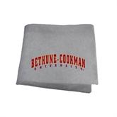 Grey Sweatshirt Blanket-Bethune-Cookman University