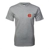 Grey T Shirt-BC Logo