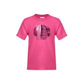 Youth Fuchsia T Shirt-BC Foil