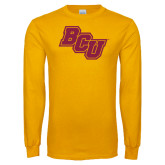 Gold Long Sleeve T Shirt-BCU