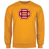 Gold Fleece Crew-BC Logo
