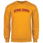 Gold Fleece Crew-Bethune-Cookman University