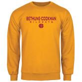 Gold Fleece Crew-Bethune-Cookman Wildcats