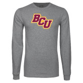 Grey Long Sleeve T Shirt-BCU