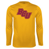 Performance Gold Longsleeve Shirt-BCU
