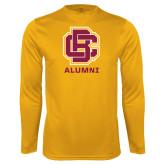 Syntrel Performance Gold Longsleeve Shirt-Alumni