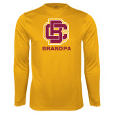 Performance Gold Longsleeve Shirt-Grandpa