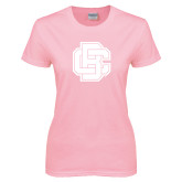 Ladies Pink T Shirt-Primary Mark