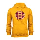 Gold Fleece Hood-BC Logo