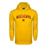 Under Armour Gold Performance Sweats Team Hood-Arched Bethune-Cookman Wildcats