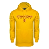 Under Armour Gold Performance Sweats Team Hood-Bethune-Cookman Wildcats